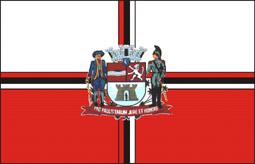 Bandeira da cidade de Jacareí - SP